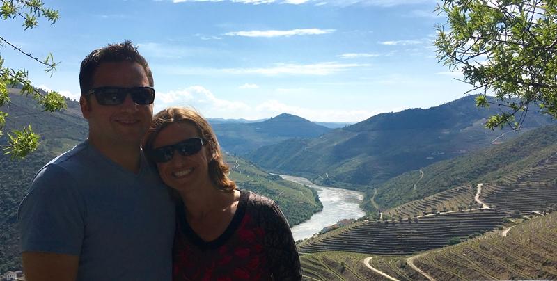A Douro-völgy Portugáliában
