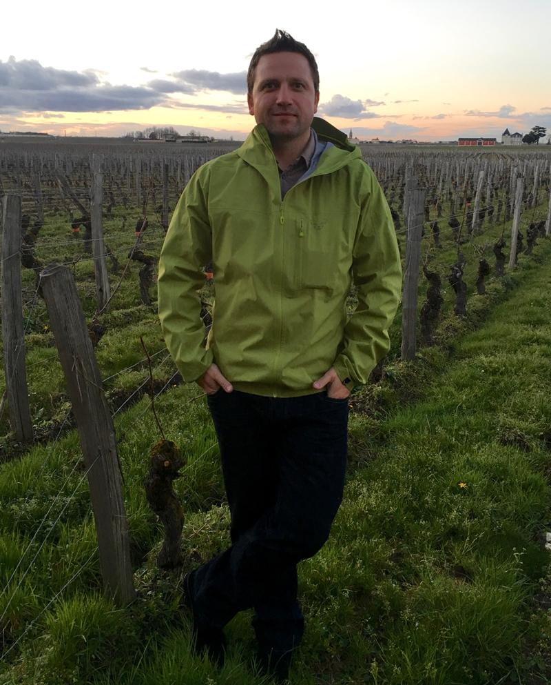 A Bordeaux-i Cheval Blanc szőlősben